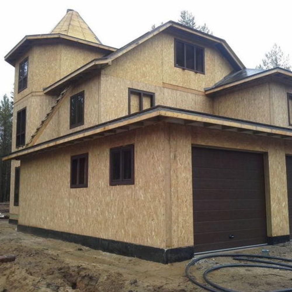 Строительство домов из СИП панелей / КПВ Строй