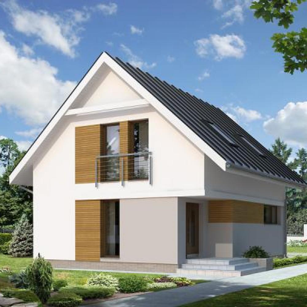 ᐉПроекты недорогих домов| Строительство маленьких домов от 15000$ от КПВ-СТРОЙ