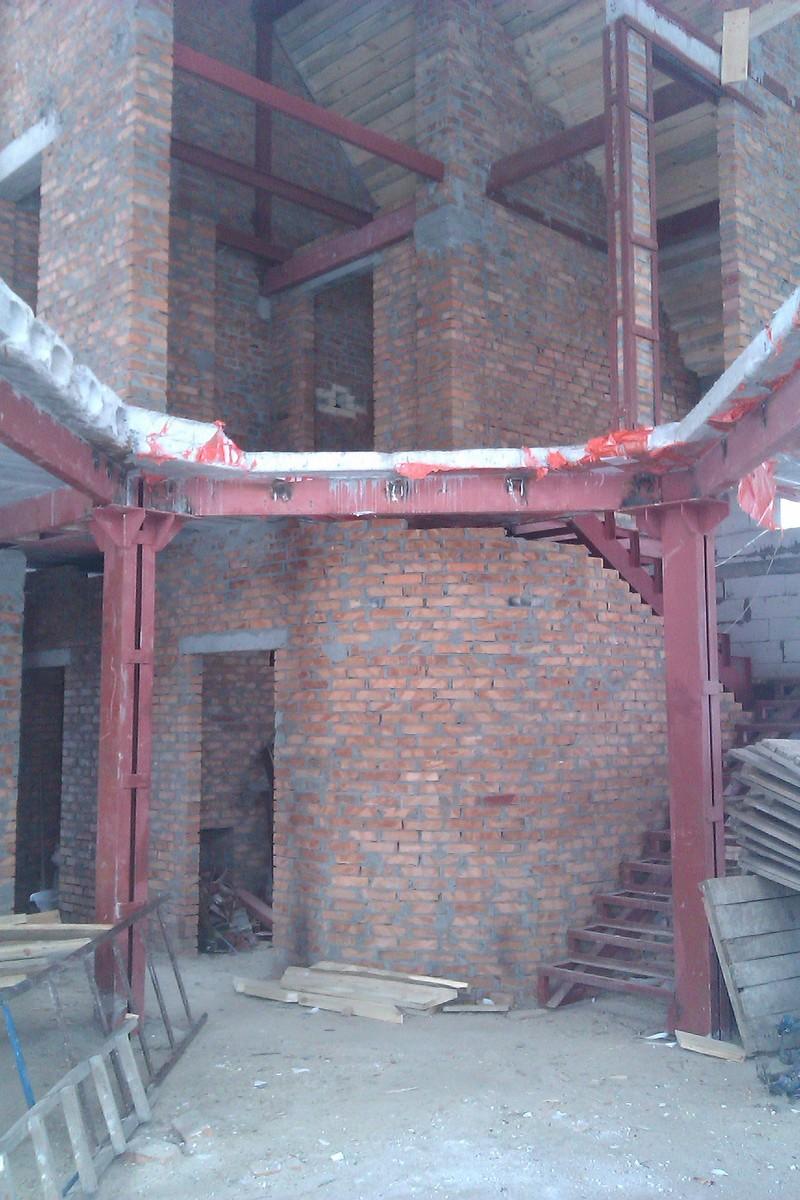 изготовление и монтаж металлических опорных балок