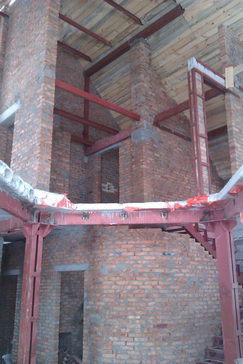 изготовление и монтаж металлических балок