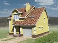 Проект дома днестр 150