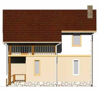 фасад дома проект борис 3