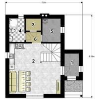 проект дома борис 3 план 1 этажа