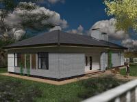 Проект дома даугава