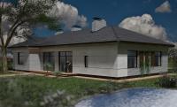 Проект дома под ключ Киев Даугава