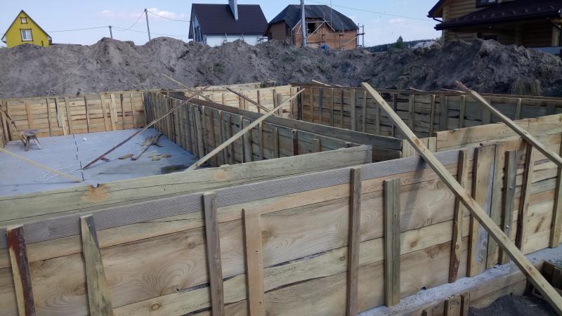 Подготовительные работы перед укладкой бетона