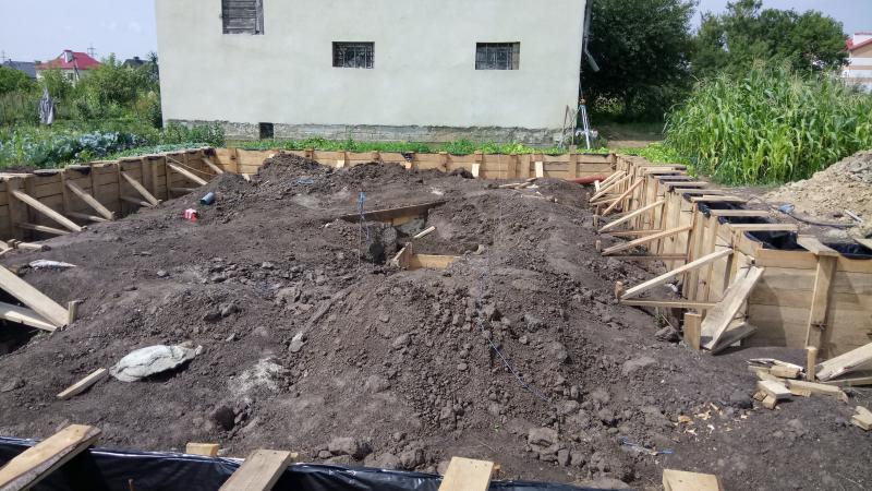Подготовительные работы перед заливкой бетона