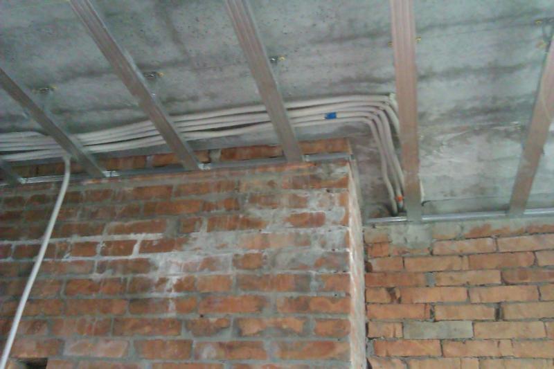 Разводка электрического кабеля