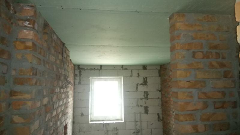 Потолок из гипсокартона. Ванная