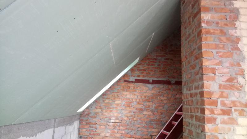 Потолок из гипсокартона. Спальня №2