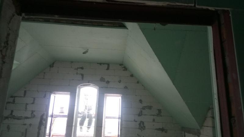 Потолок из гипсокартона. Спальня №3