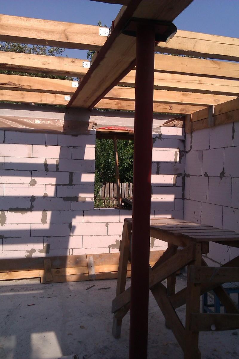 монтаж деревянного бруса
