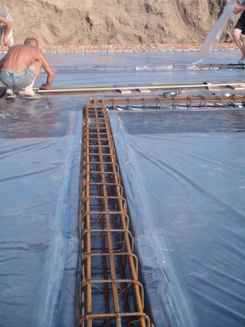 подготовка к заливки плиты перекрытия