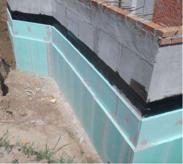 Гидроизоляция и утепление стен подвала / КПВ Строй