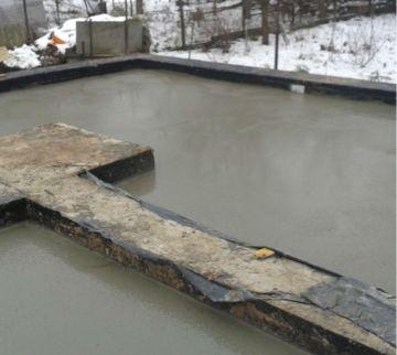 Заливка чернового пола бетоном / КПВ Строй
