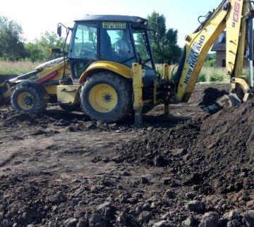 Строительство дома во Львове. Подготовительные работы. / КПВ Строй