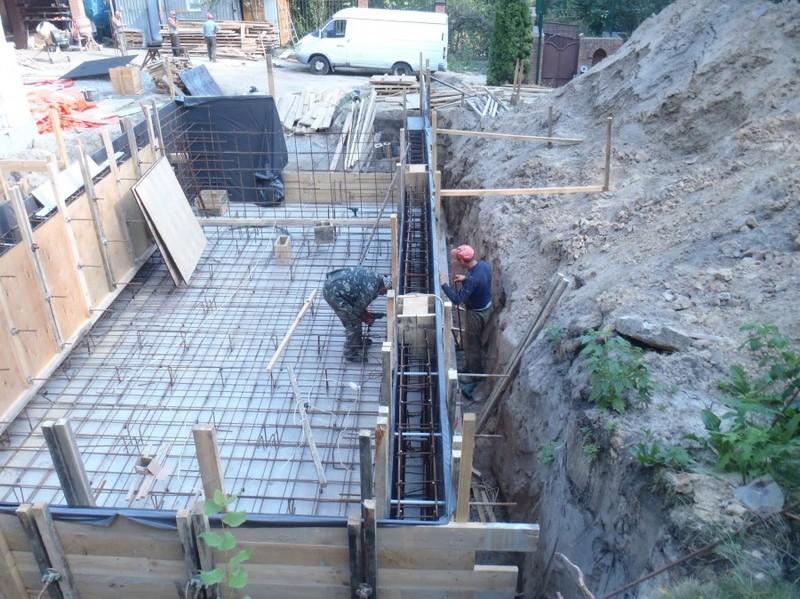 Бетонные работы. Строительство бассейна  / КПВ Строй / Фото - 4