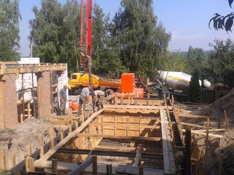 Бетонные работы. Строительство бассейна  / КПВ Строй / Фото - 5