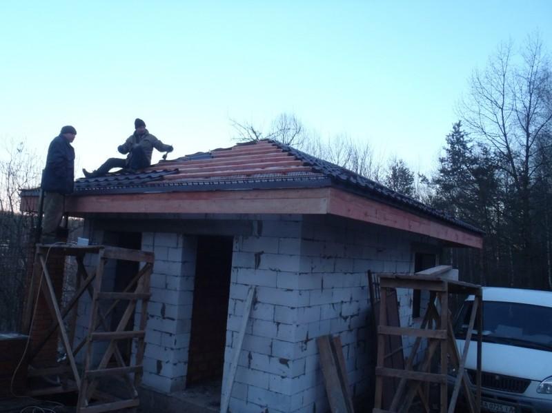 Кладка газоблока, и вентиляционных каналов / КПВ Строй / Фото - 4