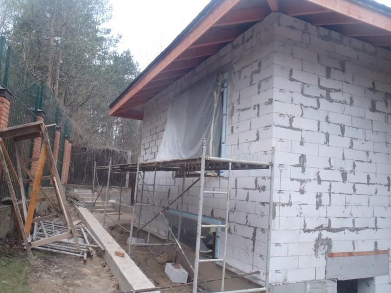 Кладка газоблока, и вентиляционных каналов / КПВ Строй / Фото - 5