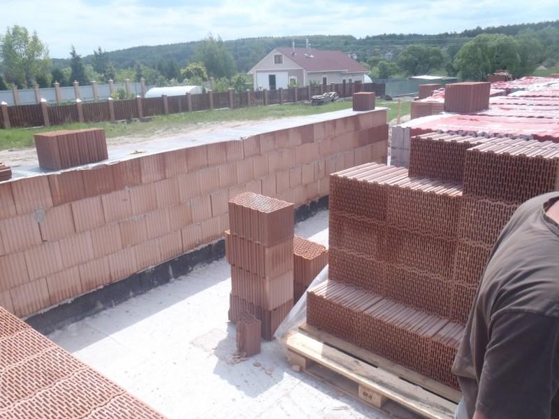 Кладка несущих стен из керамоблока / КПВ Строй / Фото - 2