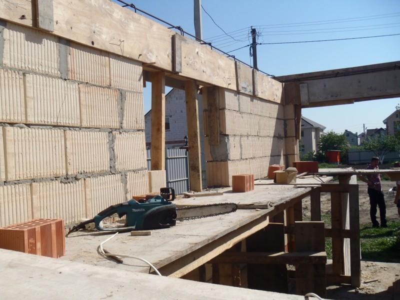 Кладка стен первого и второго этажа из керамоблока / КПВ Строй / Фото - 1