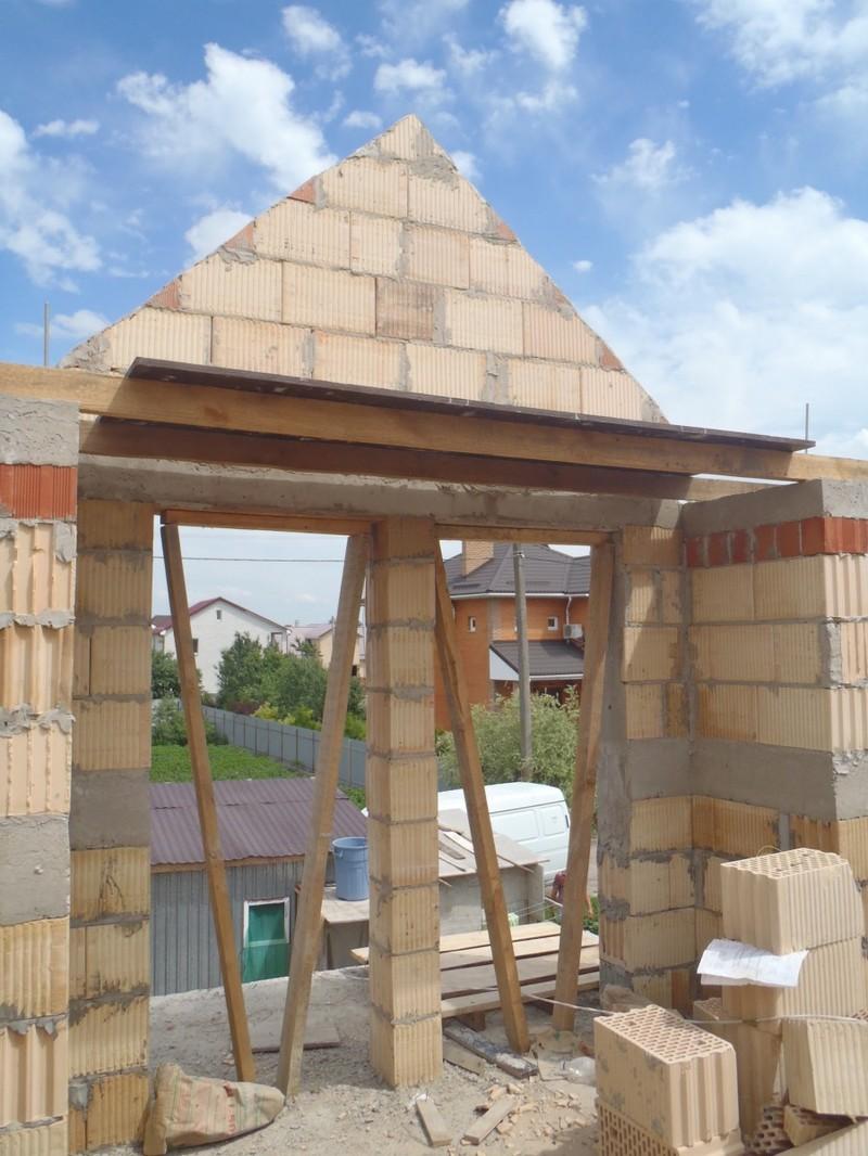Кладка стен первого и второго этажа из керамоблока / КПВ Строй / Фото - 9
