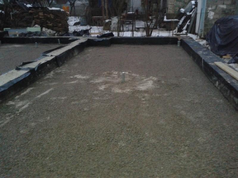 Заливка чернового пола бетоном / КПВ Строй / Фото - 5