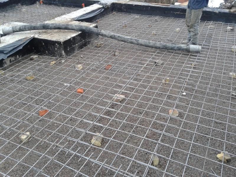 Заливка чернового пола бетоном / КПВ Строй / Фото - 6