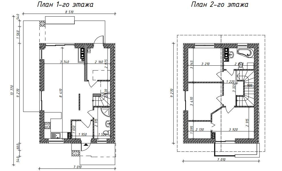 План с размерами z297