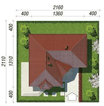 Дом в пустырнике проект, размер участка
