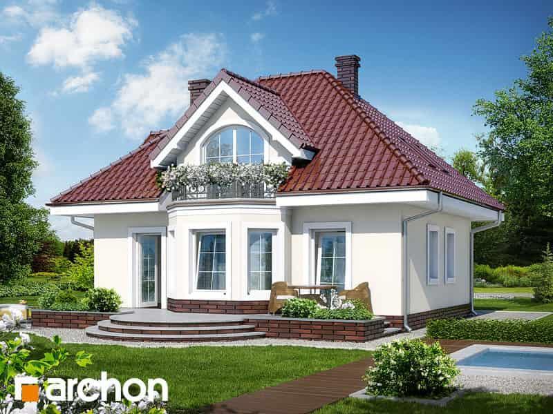 Проект Дом под белой акацией 128м2