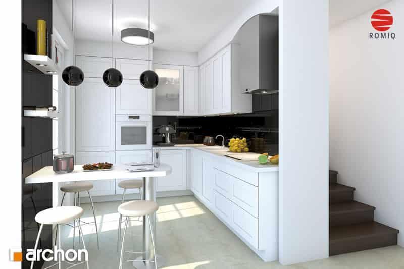 Проект Дом под белой акацией вид кухни