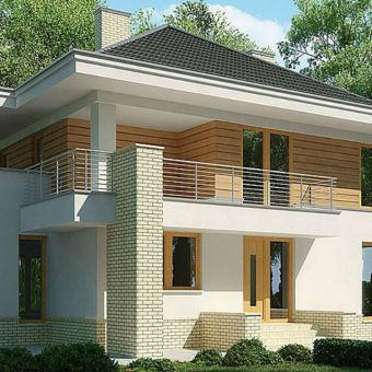 Строительство двухэтажных домов из газобетона / КПВ Строй