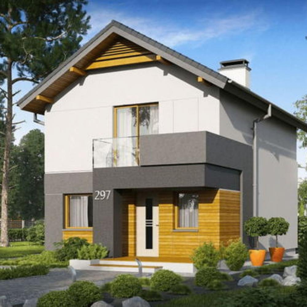 ᐉПроекты домов для узких участков КПВ-СТРОЙ