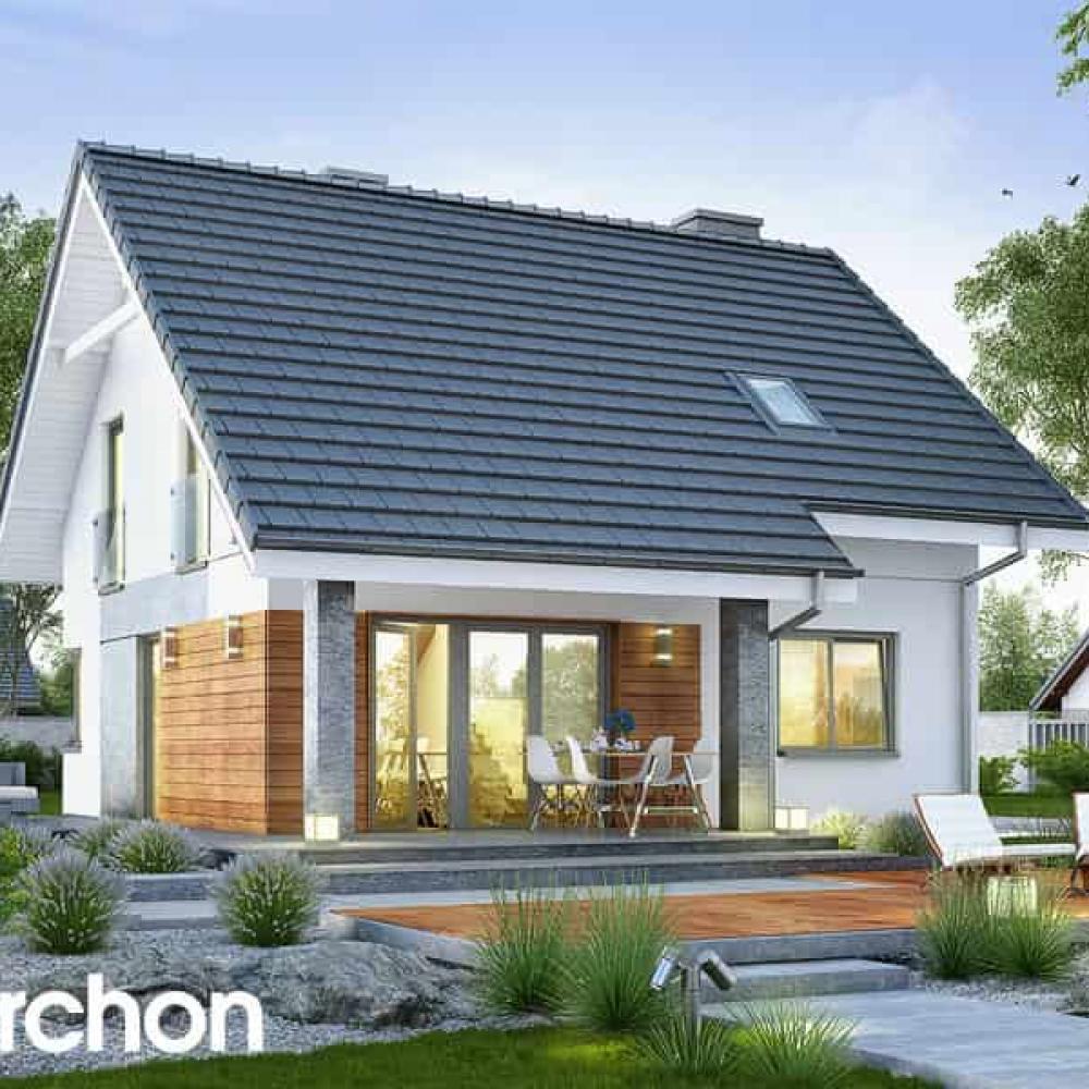ᐉПроекты дешевых домов| Двухэтажные дома до 100м2
